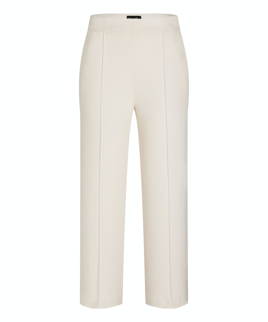 Cambio Hose  Cameron knit look offwhite